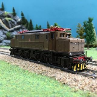 """Locomotive FS E626.091 """"Cemsa II"""" ép IVb-V-HO-1/87-LEMODELS 20512"""