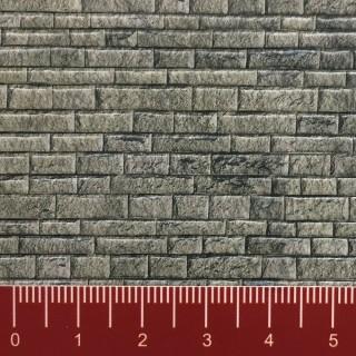 Plaque cartonnée mur en pierres-N 1/160-VOLLMER 47369