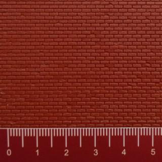 Plaque plastique mur de briques HO-1/87-VOLLMER 46033