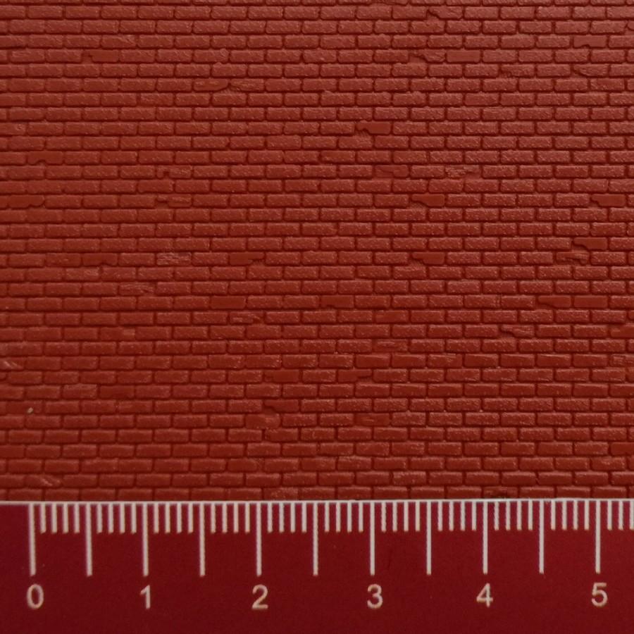 plaque plastique mur de briques ho 1 87 vollmer 46033. Black Bedroom Furniture Sets. Home Design Ideas