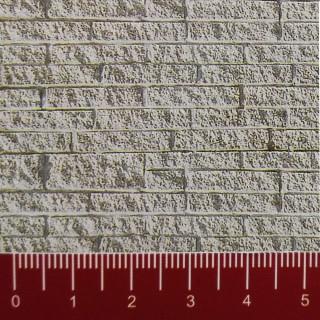 Plaque cartonnée mur de grosse pierre de taille HO-1/87-VOLLMER 46039