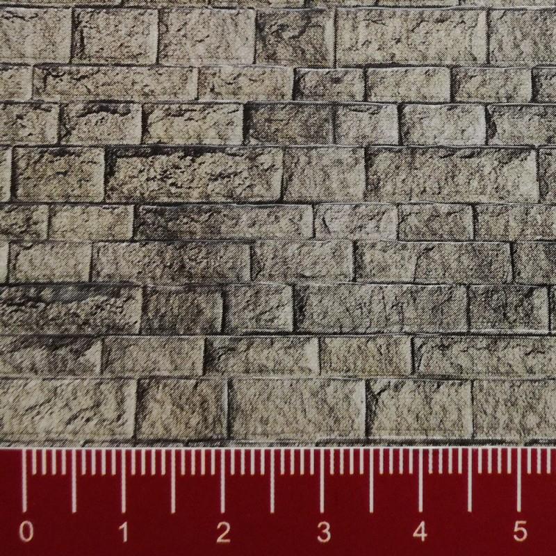 plaque plastique mur pierre de taille ho 1 87 vollmer 46049. Black Bedroom Furniture Sets. Home Design Ideas