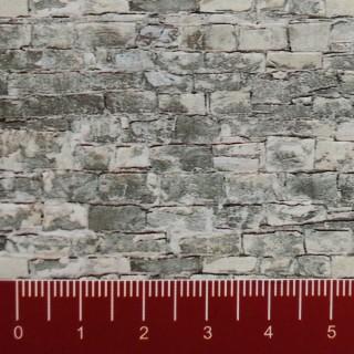 Plaque cartonnée mur pierre naturelle HO-1/87-VOLLMER 46055