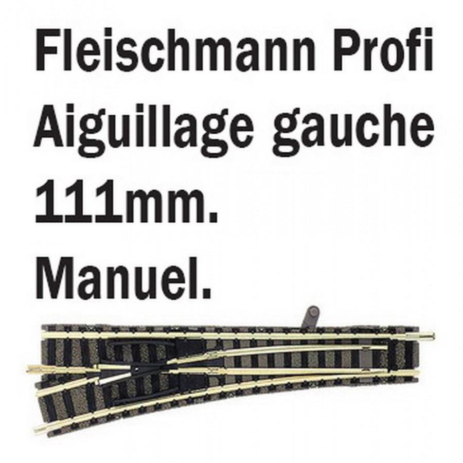 Aiguillage droit gauche-N-1/160-FLEISCHMANN 9170
