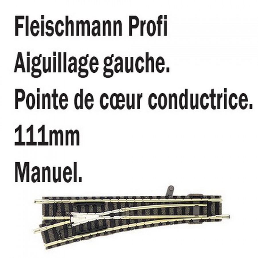 Aiguillage droit gauche-N-1/160-FLEISCHMANN 9178