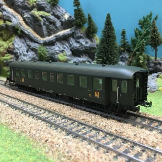 Voiture Bmyf Pullman époque IIIb SNCF-HO-1/87-REE VB36100