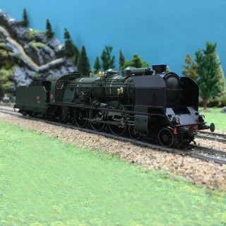 Locomotive 231G 117 Tours ép III SNCF Digitale son 3R-HO-1/87-REE MB-030SAC
