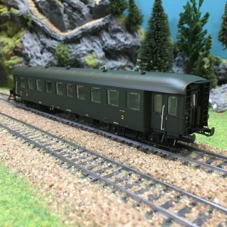Voiture Bmyf Pullman époque IIIb SNCF-HO-1/87-REE VB36102