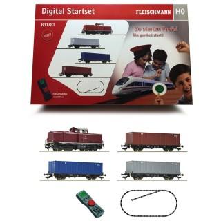 Coffret digital diesel série 212 DB-HO 1/87-FLEISCHMANN 631781