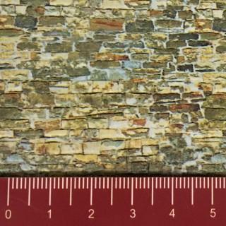 Plaque cartonnée mur de pierres-N 1/160-VOLLMER 47362