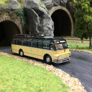 Bus Saurer 5 GVF-U Noir et ivoire-HO-1/87-Starline Models 5376