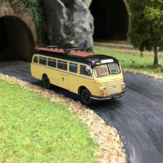 Bus Steyr 480a Noir et ivoire-HO-1/87-Starline Models 5375