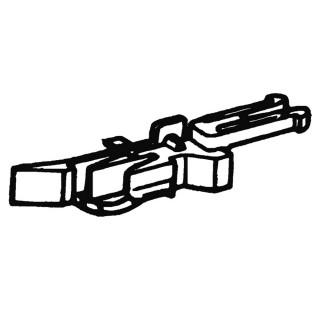 4 têtes d'attelage court-HO-1/87-ROCO 40270