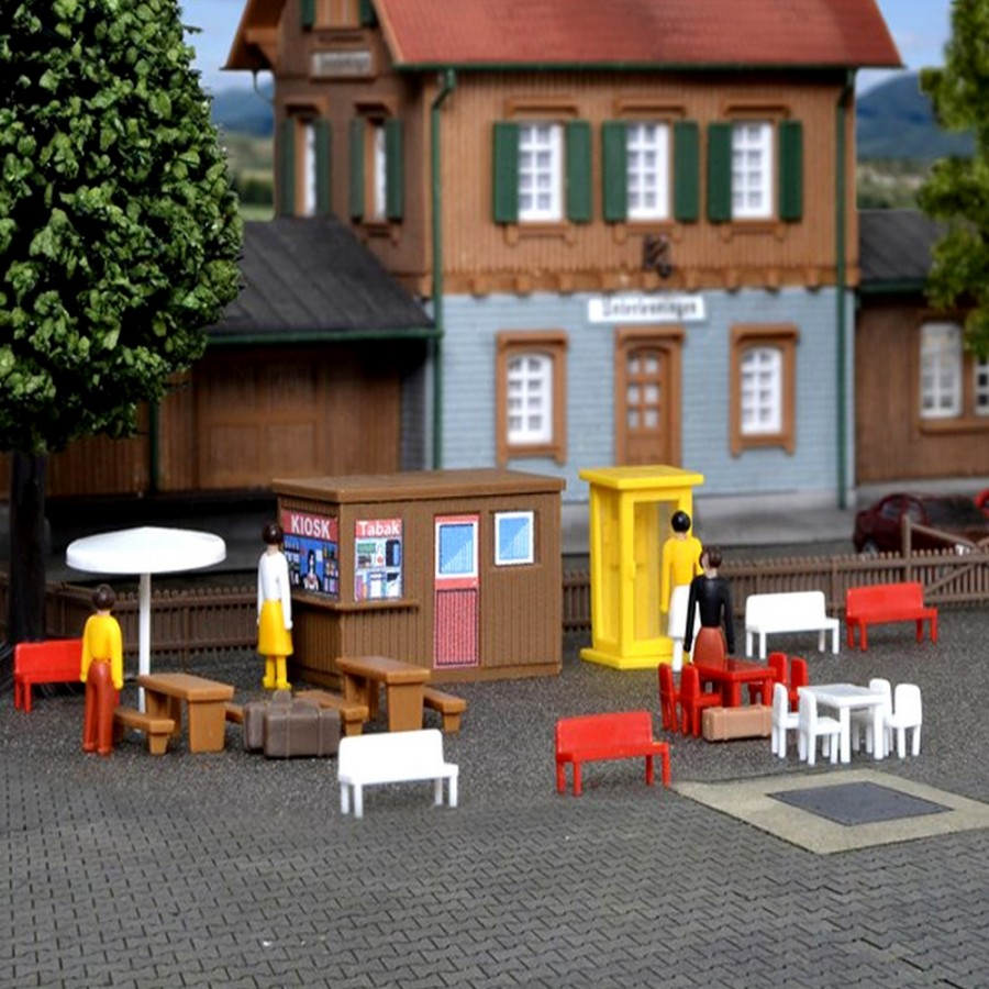 Set de décoration avec figurines-N-1/160-KIBRI 37490