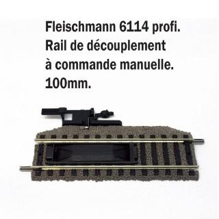 Rail de découplement à commande manuelle-HO-1/87-FLEISCHMANN 6114