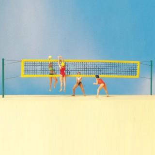Partie de Beach Volley-HO-1/87-PREISER 10528