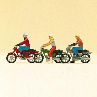 Balade en moto-HO-1/87-PREISER 10126