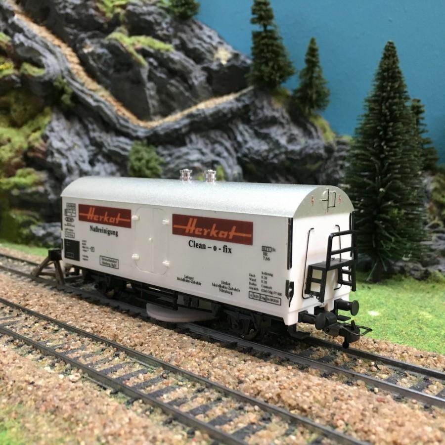 Wagon nettoyeur-HO-1/87-HERKAT 1306