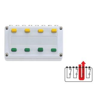 Boitier de commande 4 switch on/off-Toutes échelles-MARKLIN 72730