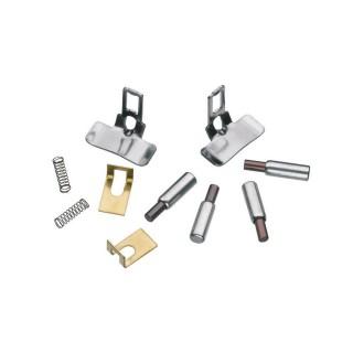 4 charbons avec deux glissières + ressorts et équerres en tôle-G 1/22.5-LGB E171326