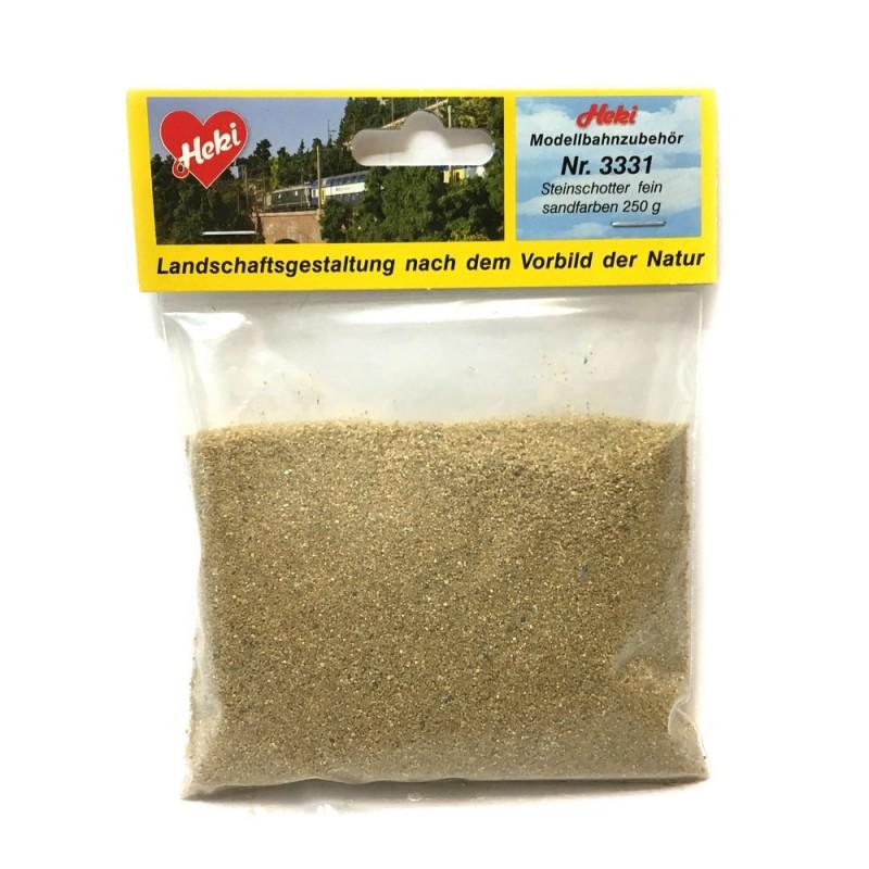 sandfarben Heki 3331 Steinschotter fein