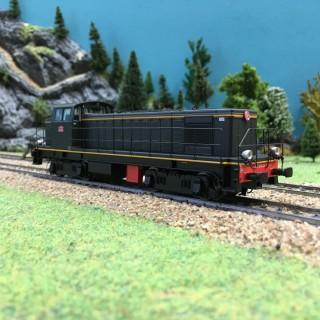 Locomotive BB 63128 Les Aubrais ép III-HO-1/87-R37 41028