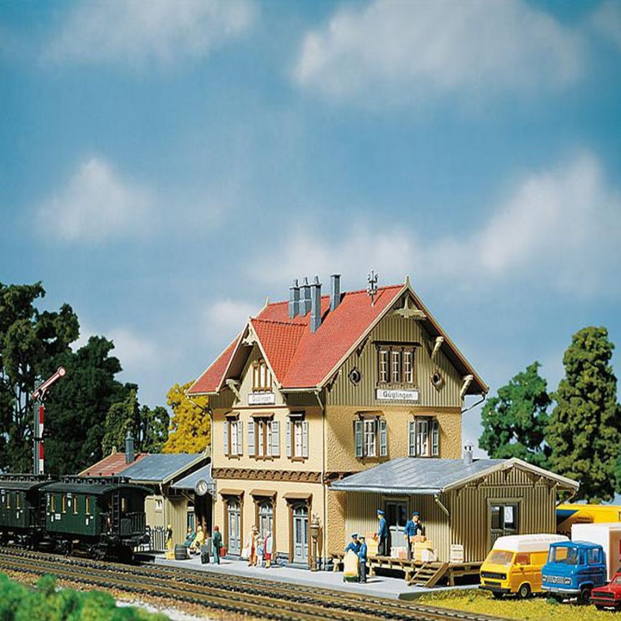 Grande gare de village-HO-1/87-FALLER 110107