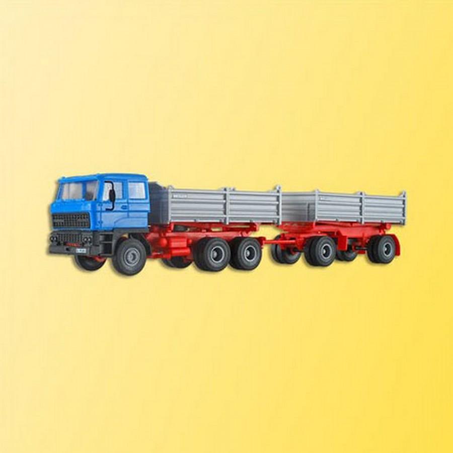 Camion benne avec remorque DAF -HO-1/87-KIBRI 14651