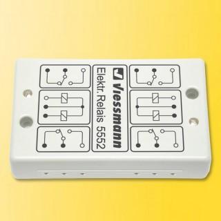 2 relais bistables indépendants-Toutes échelles-VIESSMANN 5552