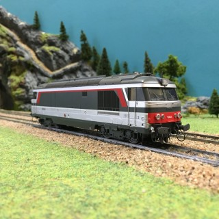 Locomotive BB 167445 Bordeaux ép V SNCF-HO-1/87-REE MB-070