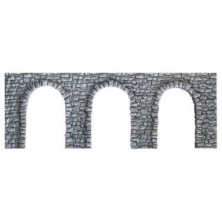 """Arcades en pierres """"moellons""""-HO 1/87-NOCH 58260"""