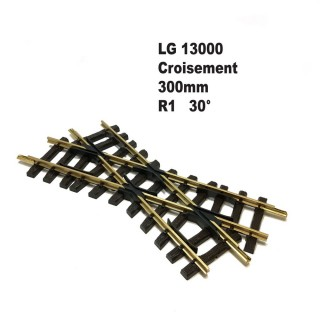 Croisement 300mm R1 30 degrés-G-1/22.5-LGB 13000