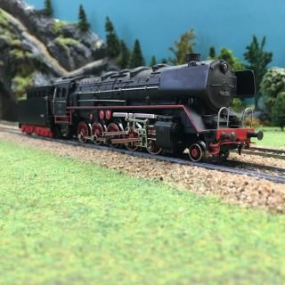 Locomotive BR44 690 3 rails-HO-1/87-MARKLIN 3027 DEP64-26