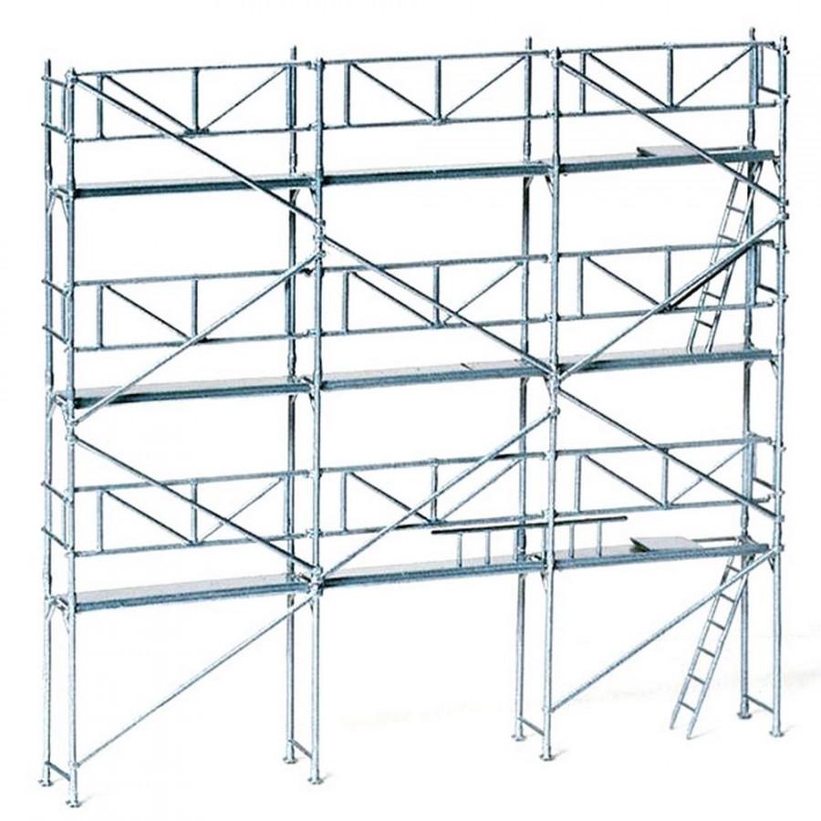 Preiser 17180 h0 Roll //façades échafaudage Kit