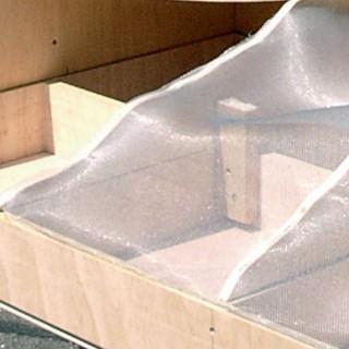 Grillage aluminium pour constitution de décor -HO-1/87-HEKI 3107