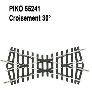 Croisement 30°-HO-1/87-PIKO 55241