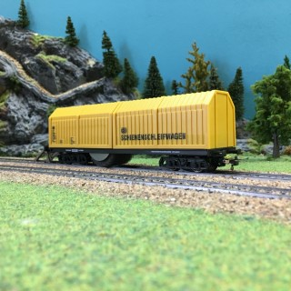 Wagon nettoyeur-HO-1/87-LUX MODELLBAU 9131
