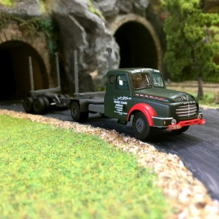 """Camion Willeme Porte-Grumes """"Jules Gendre""""-HO-1/87-REE CB-067"""