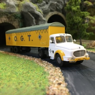 """Camion Willeme Kangourou """"OGT""""-HO-1/87-REE CB-074"""