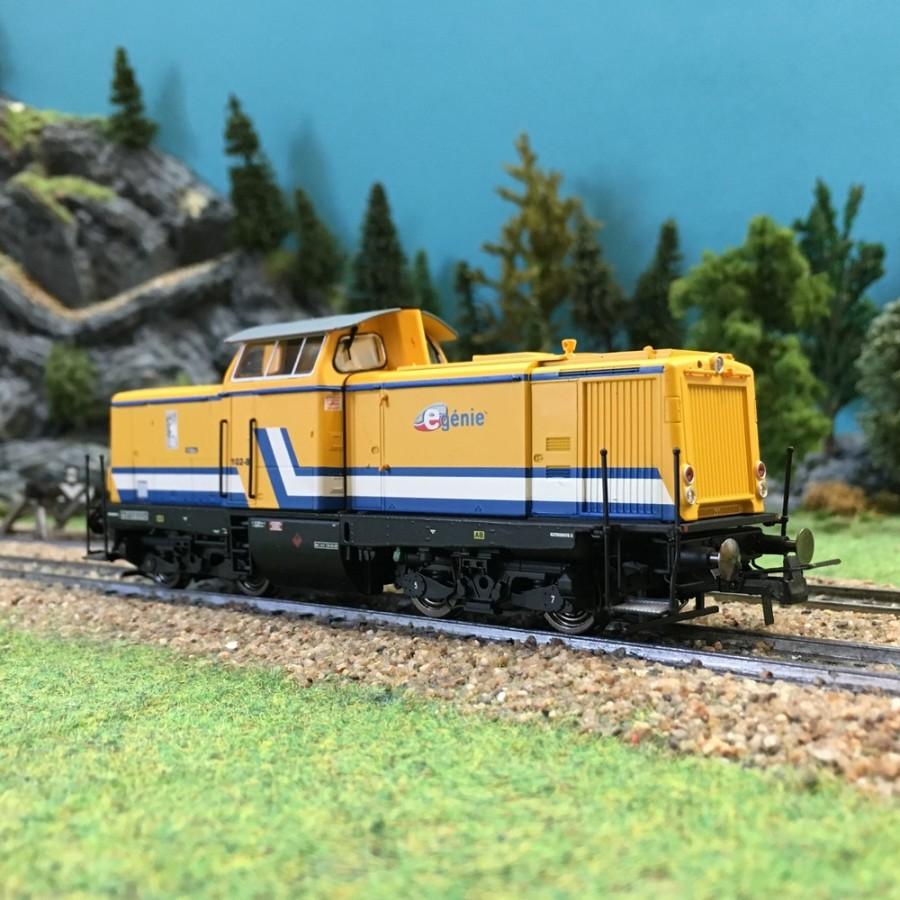 "Locomotive Diesel BR212 ""E-Genie""-HO-1/87-BRAWA 42824"
