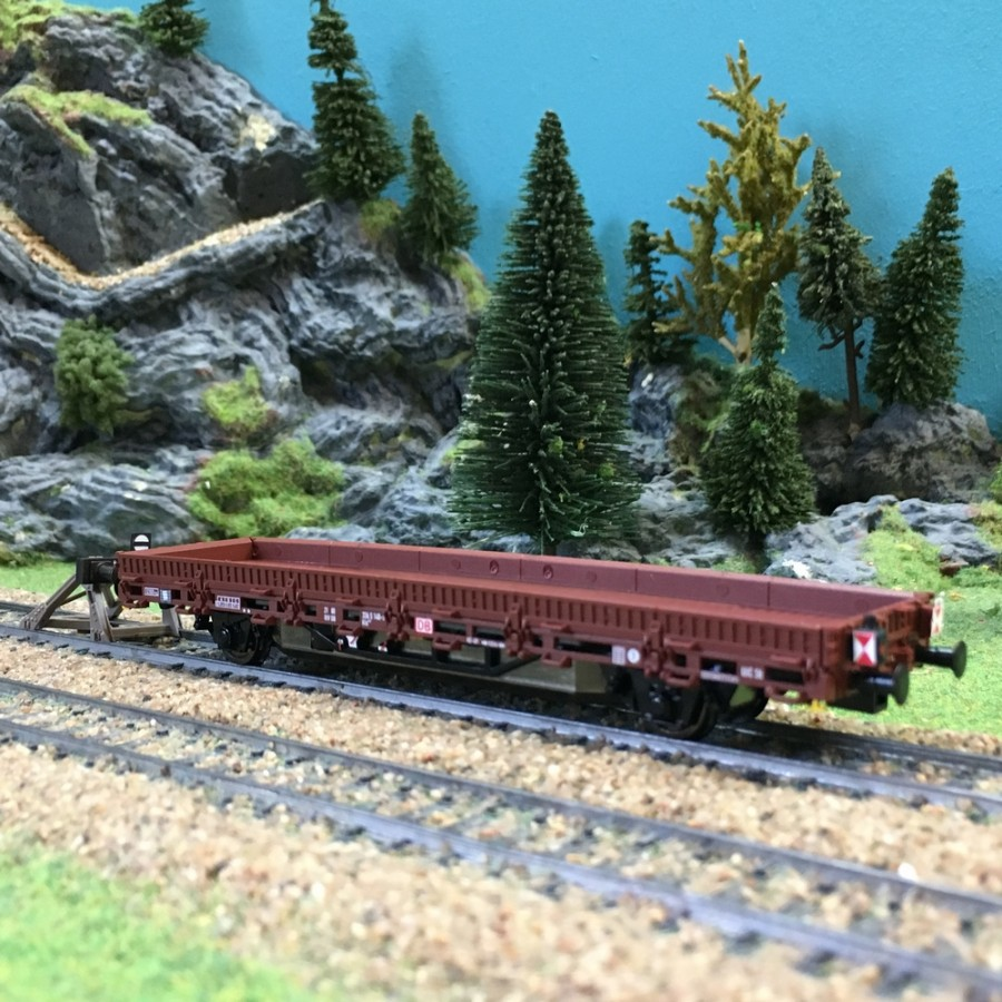 Wagon plat motorisé digital sonore DB-HO 1/87-VIESSMANN 2310