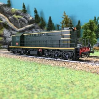 """Locomotive A1A 62000 """"YAYA"""" SNCF-HO-1/87-MABAR 82038"""