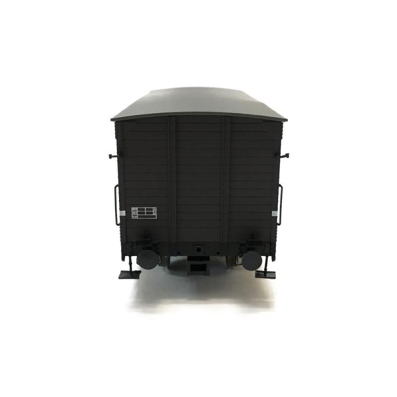 Wagon couvert KKU ép III SNCF-HO 1//87-BRAWA 49095
