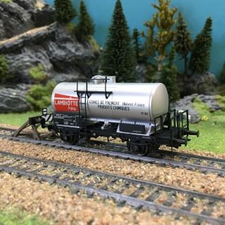 "Wagon citerne SCWF ""Lambiotte"" ép III SNCF-HO 1/87-BRAWA 49229"