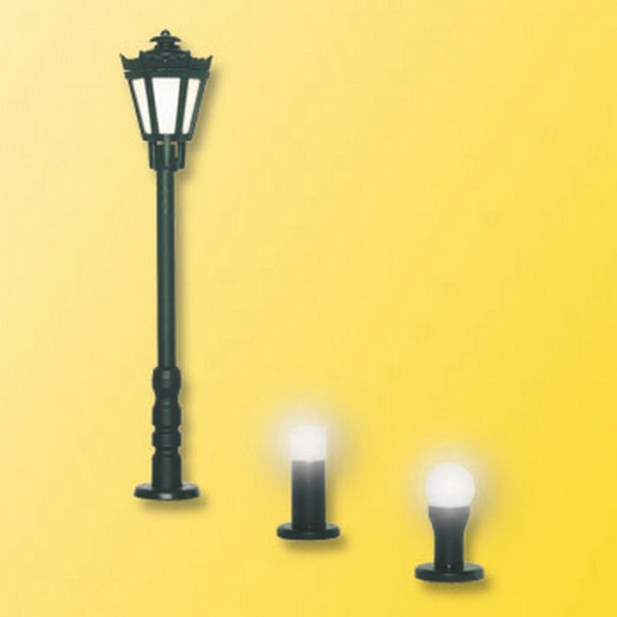 Lampadaire et éclairage de jardin-HO-1/87-VIESSMANN 6160