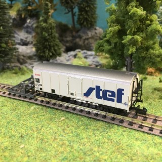 "Wagon couvert ""Stef"" ép IV SNCF-N 1/160-BRAWA 67113"