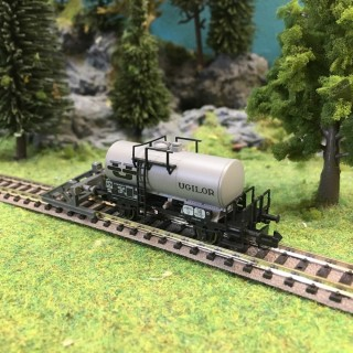 "Wagon citerne ""Ugilor"" ép III SNCF-N 1/160-BRAWA 67523"
