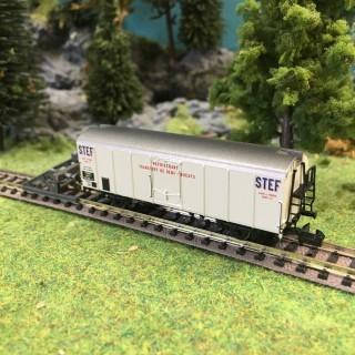 "Wagon UIC Frigo ""Stef"" ép III SNCF-N 1/160-BRAWA 67116"