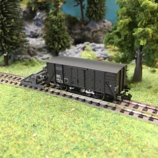 Wagon couvert LW ép III SNCF-N 1/160-BRAWA 67427