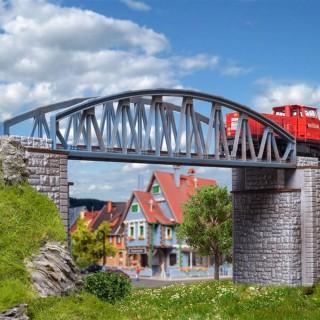 Pont en arc, style acier, droit-N 1/160-VOLLMER 47302